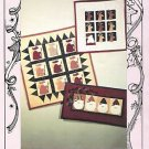 SANTAS NO SEW LITTLE QUILT QUILTING SEWING PATTERN