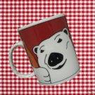 COCA COLA COKE ADVERTISING POLAR BEAR MUG CUP 2000 NR