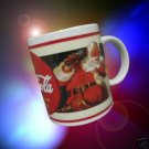 COCA COLA COKE ADVERTISTING SANTA CHRISTMAS MUG CUP