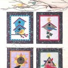 CHEEP HOUSING BIRDS HOUSES QUILT QUILTING PATTERN NEW
