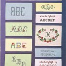 ALPHABETS & MONOGRAMS COUNTED CROSS STITCH PATTERN BOOK