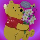 DISNEY POOH HAPPY SPRING ENGLISH FRENCH LIGHT UP CUTE