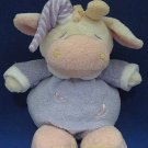 SOFT CLASSICS CUDDLY COW PLUSH BABY TOY W RATTLE CUTE