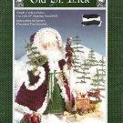 OLD ST NICK CROCHET CROCHETING PATTERN CHRISTMAS 1991