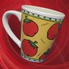 STARBUCKS COFFEE TOMATOS VEGETABLES MUG URSULA DODGE