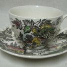 J&G MEAKIN WELCOME  HOME CREAM DINNERWARE 1 CUP SAUCER
