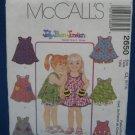 McCalls Pattern 2650 Girls Top or Dress w Shorts Sz 6-8