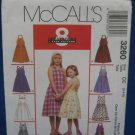 McCalls Pattern 3260 Childs Girls Sundresses Sz 3 -5