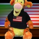 DISNEY STORE PATRIOTIC TIGGER PLUSH COLLECTIBLE CUTE