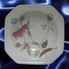 MIKASA SILK FLOWERS F3003 DINNERWARE 3 SOUP BOWLS JAPAN