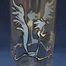 WARNER BROS PEPSI ROAD RUNNER GLASS FEDERAL 1973 HTF