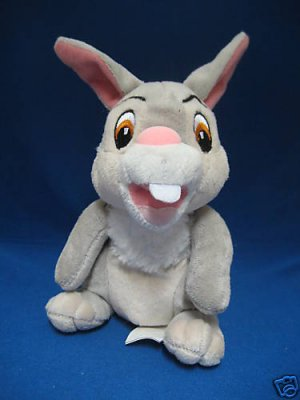 DISNEY THUMPER BUNNY RABBIT BAMBI SOFT CUDDLY PLUSH TOY