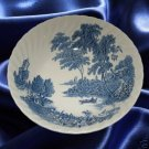 SWINNERTONS THE FERRY BLUE VEGETABLE BOWL IRONSTONE