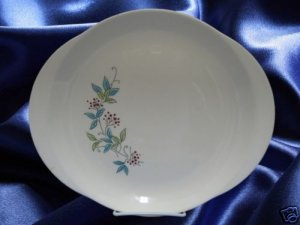 WS GEORGE MAYFAIR DINNERWARE OVAL SERVING PLATTER