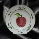 BARBARA EIGEN APPLES 1 SALAD PLATE BLOCK CHINA PORTUGAL