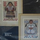BUCILLA INDIAN DOLLS COUNTED CROSS STITCH KIT 40152 NEW