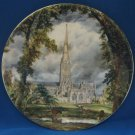 STOKE TRENT CATHEDRAL PLATE ENGLAND LIVERPOOL POTTERY
