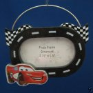 DISNEY CARS MCQUEEN RACE TRACK PICTURE FRAME ORNAMENT