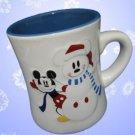 DISNEY SNOWMICKEY MICKEY MOUSE SNOWFLAKES MUG CUP