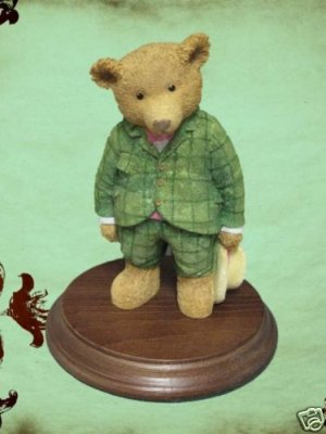 DEPT 56 UPSTAIRS DOWNSTAIRS BEARS MR FREDERICK BOSWORTH