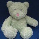 CUDDLY MINT GREEN TEDDY BEAR PLUSH TOY BABY ESSENTIALS