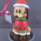 DISNEY PLUTO MICKEY DOG PUPCAKE CHRISTMAS ORNAMENT NEW