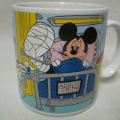 DISNEY GET WELL SOON MICKEY PLUTO MINNIE DONALD MUG CUP
