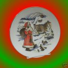 MONIKA KELLER COLE SIGNED CHRISTMAS ST NICK PLATE