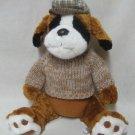 Boxer Puppy Dog Scottish Hat Sweater Plush Stuffed