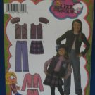 Simplicity Pattern Lizzie McGuire 4895 Girls Sz 3-6 NEW