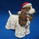 COCKER SPANIEL PUPPY DOG CHRISTMAS ORNAMENT NEW MINT