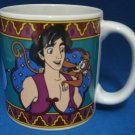 DISNEY ALADDIN JASMINE GENIE COLLECTIBLE MUG CUP