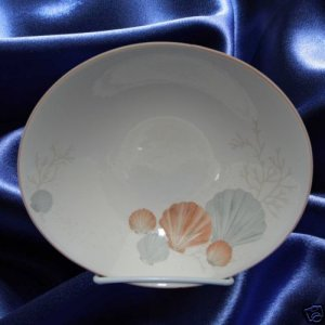 SANGO SEA SIDE SEASHELLS DINNERWARE 1 COUPE SOUP BOWL