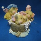 THIS LITTLE PIGGY SPRING CLEANING 298107 ENESCO FIGURE