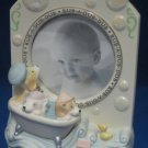 RUB A DUB 3 PUPS IN A TUB BABY PHOTO PICTURE FRAME NEW