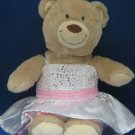 BUILD A BEAR STUFFED TEDDY PLUSH + SEQUIN FANCY DRESS