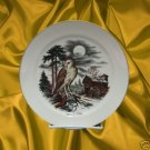 BARN OWL BIRD PICKARD CHINA COLLECTOR PLATE USA