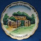 LINCOLNS NEW SALEM IL BERRY LIINCOLN STORE MIINI PLATE