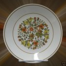 CORELLE INDIAN SUMMER DINNERWARE 3 SALAD PLATES FLORAL