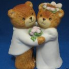 LUCY & ME WEDDING ANNIVERSARY TEDDY BEARS FIGURINE CUTE