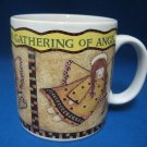 Gathering of Angels Heart Mug Cup Debbie Mumm Sakura
