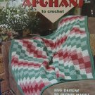 CORNER TO CORNER AFGHANS CROCHET PATTERN BOOK 5 DESIGNS