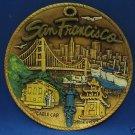 VINTAGE SAN FRANCISCO STATE SOUVENIR COLLECTOR PLATE