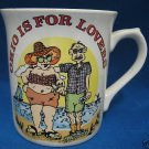 COMICAL OHIO IS FOR LOVERS VACATIONERS SOUVENIR MUG CUP