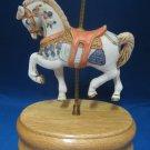 Carousel Horse Merry Go Round Music Box Artmark Musical