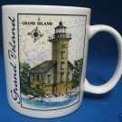 GREAT AMERICAN LIGHTHOUSES GRAND ISLAND MUG CUP ELIAS