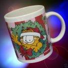 GARFIELD CAT MERRY CHRISTMAS HO HO HO MUG CUP NEW CUTE