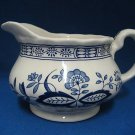 WEDGWOOD HERITAGE BLUE ONION 8 OZ CREAMER ENGLAND MINT