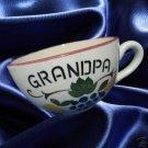 VINTAGE GRANDPA FRUIT CUP WESTERN GERMANY 1833 MINT NR