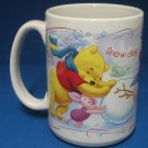 Disney Pooh Friends Snow Day Time For Play Mug Cup